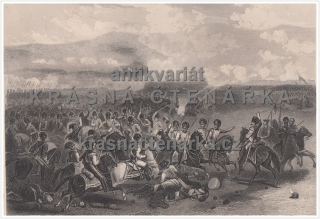 CHARGE OF HEAVY CAVALRY AT THE BATTLE OF BALAKLAVA, BITVA, VOJÁCI	(Kearney, Hulland, ocelorytina)