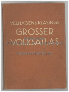 Velhagen & Klasings: GROSSER VOLKS-ATLAS (Frenzel Konrad)