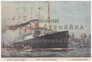 LOĎ S. S. LEVIATHAN (United States Lines)